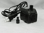 American Pond APJR450-2 Submersible Fountain Pump 120 GPH with 2-Prong Power Cord