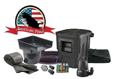 American Pond Freedom 6 X 8 Mini Pond Kit