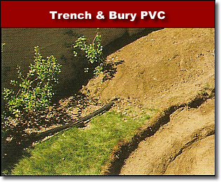 Bury Trench Pipe