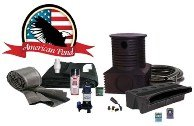American Pond Pond Free Professional Waterfall Kits