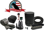 American Pond Medium POND FREE Freedom Series Waterfall Kit