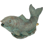 Danner Pondmaster Spouting Fish Pond Statue Fountain Spitter