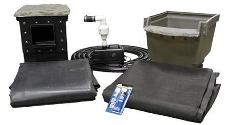 Easypro 6 39 X 6 39 Diy Mini Backyard Pond Kit Et66fb