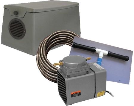 Easypro Pa12wk Pond Compressor Kit Weatherproof Cabinet