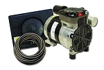 EasyPro Rocking Piston Pond Aeration System 1/4 HP Kit with Weighted Tubing PA34W