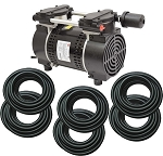 EasyPro 3/4 HP Rocking Piston Aeration System Aerates up to 50 feet deep