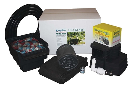 Backyard pond kits easy do it yourself easypro for Do it yourself koi pond