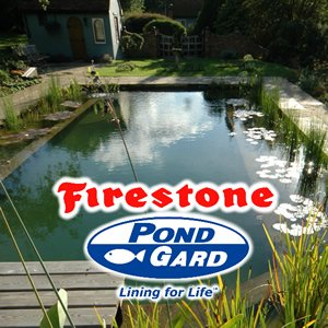 Firestone Pond Liner Installation