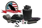 American Pond Large POND FREE Freedom Series Waterfall Kit w/Stream