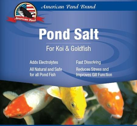 Pond care salt for koi and fish ponds 10 lbs for Koi fish pond care