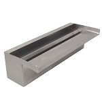 "ProEco 12"" Stainless Steel Waterfall Weir 1000 GPH"
