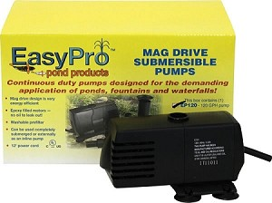 EasyPro EP120 Submersible Magnetic Drive Pump 120 GPH