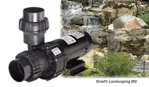 EasyPro 1/2HP 16000 GPH Energy Efficient External Pond Pump SHV50