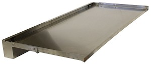 "EasyPro Stainless Steel Vianti Falls 35.5"" Spillway SSS1535 with 15"" Lip"
