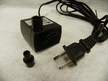 66 Gph Fountain Pump 2 Prong Power Cord Jr250 2
