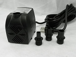 American Pond APJR2500 Submersible Fountain Pump 660 GPH has 15ft 3-Prong Grounded Power Cord