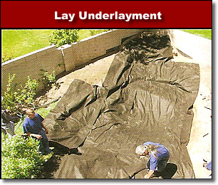 Lay Pond Underlayment