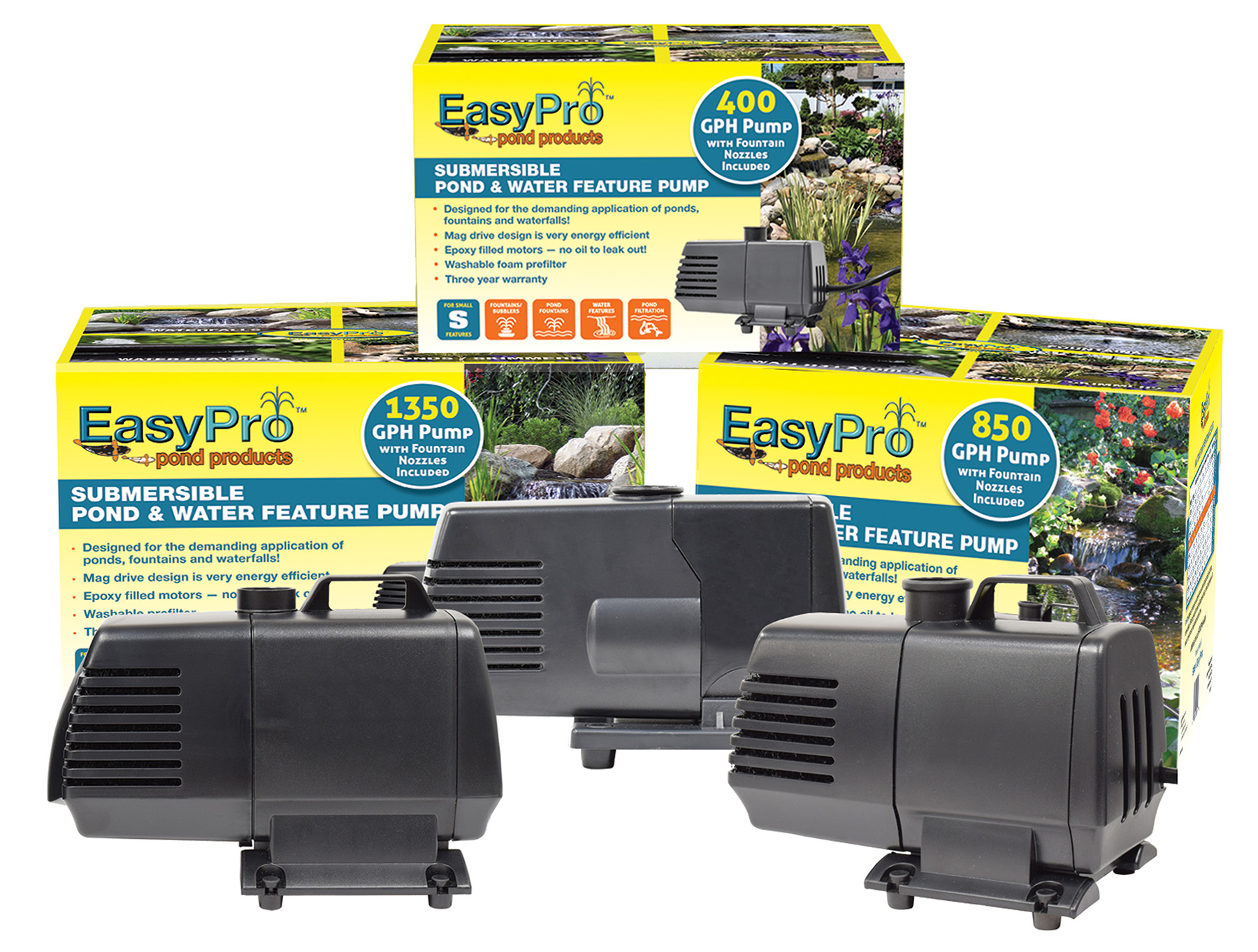 EasyPro Submersible Mag Drive Pump