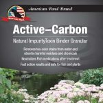 American Pond Active-Carbon Water Treatment