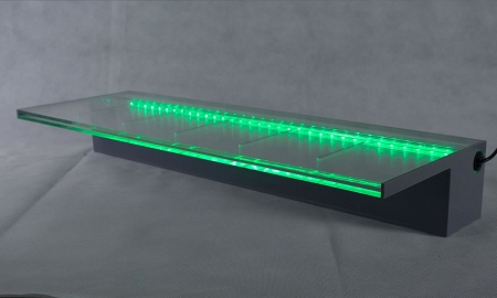 24 Quot Waterfall Spillway With Color Controllable Light