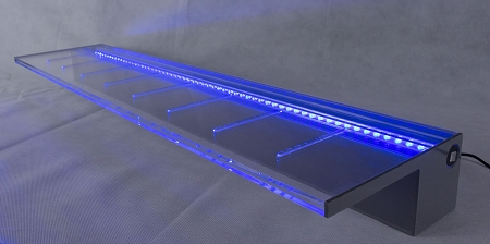 36 Quot Waterfall Spillway With White Led Light American Pond