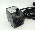 American Pond APJR800 Submersible Fountain Pump 211 GPH has 6ft 3-Prong Grounded Power Cord