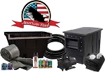 American Pond Professional Colossus Series 21' x 21' Energy Saving Pond Kit