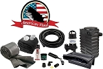 American Pond Small Pond Free Pro Series Waterfall Kit w/ Powerful Pump