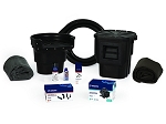 Atlantic Water Gardens 11 x 11 Small Pond Kit with TT3000 Pump