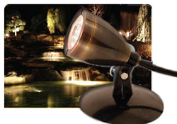 SOL LED Pond Lighting from Atlantic Water Gardens