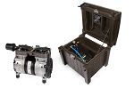Atlantic Deep Water Compressor with Weatherproof Cabinet - 2 Valved Outlet