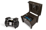 Atlantic Deep Water Compressor with Weatherproof Cabinet - 4 Valved Outlet
