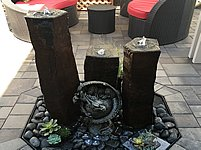 EasyPro Three Pack Basalt Fountains