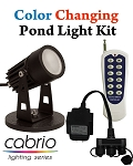 EasyPro Cabrio Color Changing LED Pond Light Complete Kit