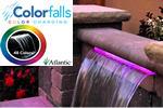 Color changing colorfalls