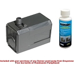 Pondmaster 1.9 Magnetic Drive Pond Fountain Pump 190 GPH - Includes FREE 4oz bottle of Danner PumpGuard Cleaner