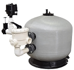 EasyPro Commercial Bead Filter Pond Size 30000 Gallons with Back Flush Blower
