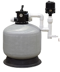 EasyPro Commercial Bead Filter Pond Size 9000 Gallons with Back Flush Blower
