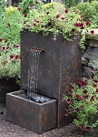 EasyPro Self Contained Trinity Fountain with Integrated Planter