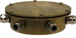 Bronze Eight Outlet Underwater Junction Box for Fountain Lights