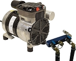 Rocking Piston Pond Aeration System 1/4 HP Kit 2 Valve Kit NO diffusers and NO tubing