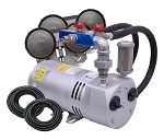 EasyPro PA50W Rotary Vane Pond Aeration System 1/4 HP Kit with Weighted Tubing