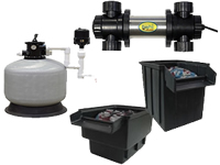 easypro pond filters and uv manuals