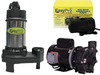 easypro pond pumps manuals