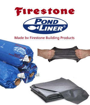 EPDM Firestone Flexible Pond Liner