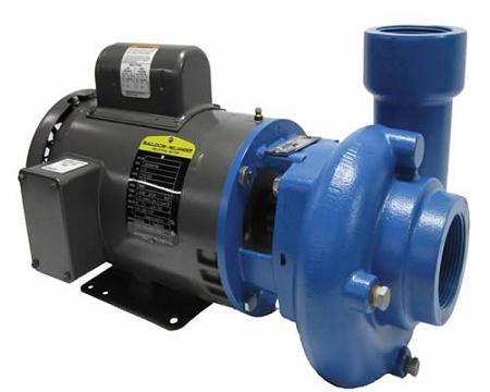 Goulds gcp50 high volume external pump 540 gph 5hp for Install external pond pump