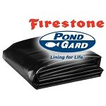 EPDM Firestone PondGard Flexible Pond Liner and Accessories