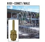 ProEco 1/2'' Male Comet Fountain Nozzle - N101-050