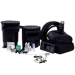 Savio 1500 Gallon Complete Pond Kit Package 11' x 16' with 26 Watt UV