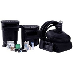 Savio 1500 Gallon Complete Pond Kit Package 11' x 16' - PP1500